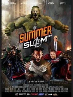 Great fan mashup for SummerSlam, featuring John Cena, Brock Lesnar, Paul Heyman, CM Punk and Daniel Bryan.
