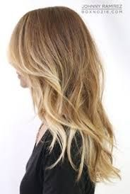 Blonde Sombre Hair