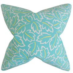 Shop for Kateri Foliage Euro Sham Turquoise. Get free delivery at Overstock.com - Your Online Sheets