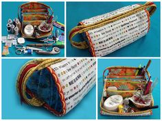 Bionic Gear Bag Notions Tote Pattern - Sewing or Electronics Organizer -Neatify your space when you travel attend classes or retreats!!