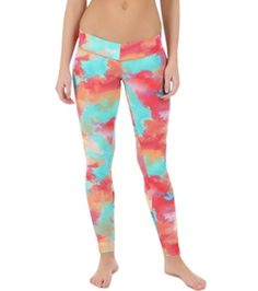 O'Neill 365 Women's Surf Legging    Delightfully bright yoga clothes make me happy!