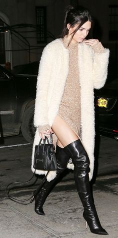 Kendall Jenner's Street Style Outfit & Mini Bag
