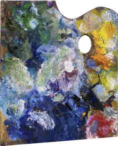Striking Images of Painters' Palettes  Marc Chagall
