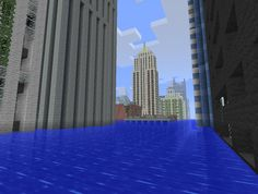 #Minecraft waterworld