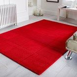A simple plain coloured contemporary square design is featured on these wool rugs. Made with a cut and loop pile. Available in 5 popular colours and 4 sizes. Square Rugs, Rug Size Guide, Red Rooms, Area Rug Sizes, Area Rugs, Hand Tufted Rugs, Small Rugs, Modern Rugs, Rug Making