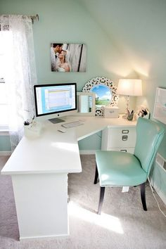 DIY Little Apartmen Decorating Ideas On A Budget Nice 43 Extraordinary Small Home Office Design Ideas With Traditional Themes. Home Office Space, Home Office Design, Home Office Decor, Home Design, Home Decor, Design Ideas, Office Designs, Small Office Decor, Apartment Office