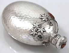 whiting mixed metals flask