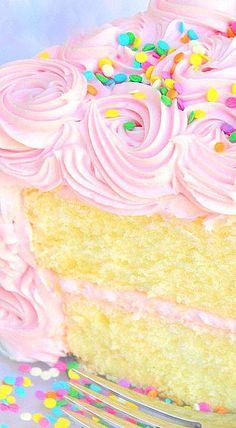 Delicious Scratch White Almond Sour Cream Cake by MyCakeSchool.com! Online Cake Decorating Classes & Recipes!