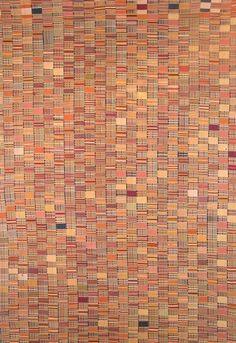 Mens' Ewe Kente Cloth, Ghana  Woven Cotton