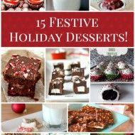 15 Festive Holiday Desserts