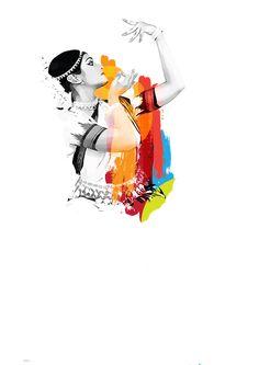 Dance Paintings, Indian Art Paintings, Art Sketches, Art Drawings, Indian Illustration, Dancing Drawings, Indian Classical Dance, Madhubani Art, Buddha Art
