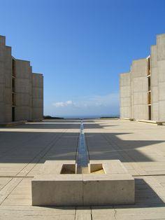 Louis Kahn - Salk Institute - San Diego - 1965