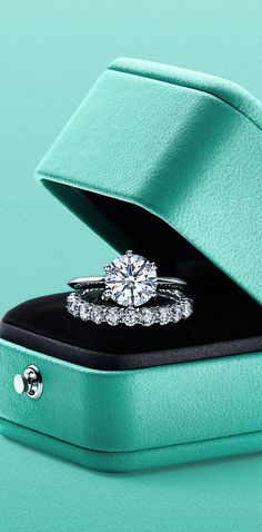 Tiffany® Setting and Tiffany Embrace® rings in platinum. The Tiffany® Setting and Tiffany Embrace® rings in platinum. The Tiffany® Setting and Tiffany Embrace® rings in platinum. Engagement Ring Tiffany, Tiffany Wedding Rings, Tiffany Rings, Cheap Wedding Rings, Beautiful Wedding Rings, Wedding Rings Vintage, Gold Engagement Rings, Diamond Wedding Rings, Bridal Rings