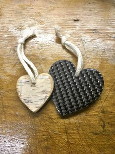 Wood-Carbon Heart #1 Holz-Carbon Herz #1 Dog Tags, Dog Tag Necklace, Heart, Wood, Diy, Jewelry, Homes, Crafting, Jewlery