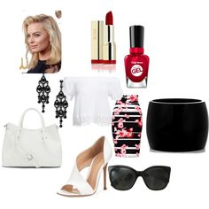Untitled #300 by sarahepburn28 on Polyvore featuring polyvore fashion style Boohoo Thalia Sodi Gianvito Rossi Vince Camuto Alexander McQueen Chanel Sally Hansen
