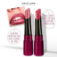¿Quieres lograr esos labios ombré dignos de pasarela? ¡Acá está el secreto! #Tips #Beauty #Lips #Ombré #OriflameMX