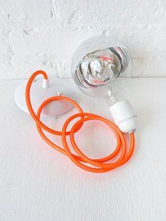 Neon Orange Net Farbe Schnur hängen von EarthSeaWarrior auf Etsy
