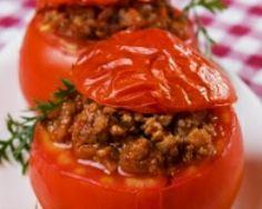 Tomates farcies charcutières (facile, rapide) - Une recette CuisineAZ