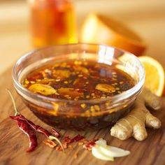 Chili-Orange Marinade for beef, lamb, pork or chicken.  Sounds yummy!  Williams Sonoma.