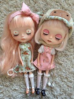 Blythe doll Simply Vanilla and Factory Custom | Flickr - Photo Sharing!