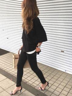GUのTシャツ・カットソーを使ったyukoのコーディネートです。WEARはモデル・俳優・ショップスタッフなどの着こなしをチェックできるファッションコーディネートサイトです。