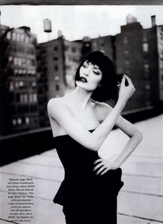 """Shalom by Patrick Demarchelier, 1995."""