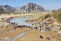 HINGLAJ YATRA Hindu Pilgrims at Hingol (Balochistan) in Hinglaj Yatra