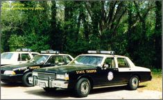 old florida highway patrol car photos | Image #5, FHP Mustang with Caprices, Jetsonics/stainless vent shades ...