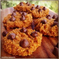 Ripped Recipes - Pumpkin Chocolate Chip Cookie - Because it is fall and pumpkin cookies with chocolate are necessary!