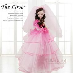 43.69$  Buy here - http://ai9h8.worlditems.win/all/product.php?id=32682683609 - 27.5cm  Original  kurhn doll Wedding Series   Brinquedos Meninas Bonecas Children Christmas Gift Kid Hobby  9083