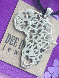 Home - Dee Designs Africa, Sterling Silver, Pendant, Heart, Gifts, Design, Presents, Pendants