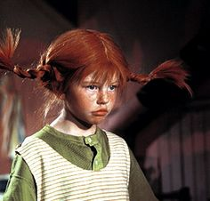 Pippi Longstockings, me for Halloween, food coloring and wire coat hanger, I had the freckles already. It took a month to get that color out! Nostalgia, Foto Portrait, Pippi Longstocking, Freckle Face, Photocollage, Sweet Memories, Freckles, Redheads, Red Hair