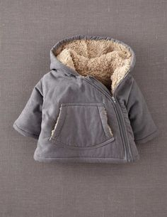 Cord Padded Jacket