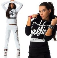 Wish | Women Autumn Fashion Letter Print Tracksuits Sport Hoodies+Sweatpants Casual Sport Suits Sweatsuit