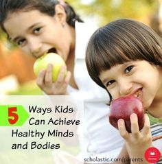 5 healthy habits to help your child achieve a healthier mind and body.