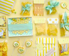 Box of Sunshine Gift / Care Package Homemade Gifts, Diy Gifts, Cheer Up Gifts, Box Of Sunshine, Fun Mail, Wraps, Mellow Yellow, Little Gifts, Gift Baskets