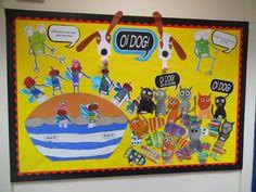 Oi dog school display board. Year 2 Display Boards For School, School Displays, Dog School, Year 2, Display Ideas, Dogs, Dog Training School, Pet Dogs, Doggies