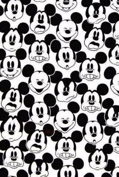 faces of Mickey