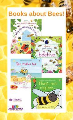 Books about Bees!//Usborne Books & More//UBAM//consultant//kids books//childrens books//nonfiction//phonics//lift-the-flap//bees//pollinators Preschool Books, Preschool Kindergarten, Bees For Kids, Kindergarten Pictures, How To Make Tea, Phonics, Nonfiction, Childrens Books, Children's Books