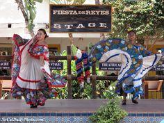 Old Town San Diego | Fiesta de Reyes stage at Old Town San Diego.