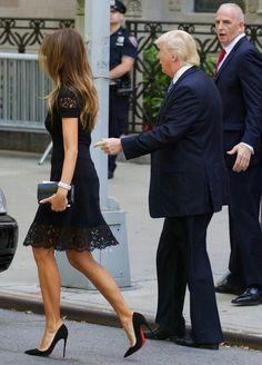 Donald And Melania Trump, First Lady Melania Trump, Donald Trump, Trump Melania, Milania Trump Style, Melina Trump, Ivanka Trump, Trump Hair, Trump Picture