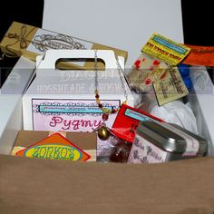 A Diagion Alley Custom Care Package - Sent by Owl Post - Pre chosen Items. $100.00, via Etsy.