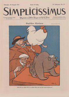 Simplicissimus magazine, 29 August 1916