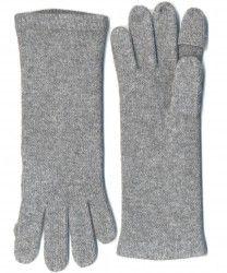 cashmere pop finger gloves