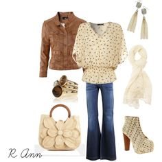 Here's is another outfit I just have to have!  I've never really liked browns, but this is CUTE!!!