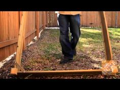 How to create a raised bed...