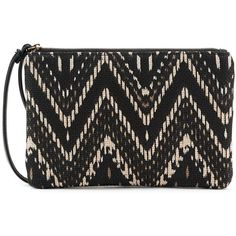 SONOMA Goods for Life™ Printed Wristlet, Women's, Ovrfl Oth (€16) ❤ liked on Polyvore featuring bags, handbags, clutches, ovrfl oth, print handbags, print purse, man bag, wristlet purse and zipper purse