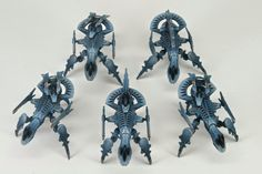 What's On Your Table: Shaltari Army - Faeit Warhammer News and Rumors Drop Zone, Warhammer 40k, Minis, Color Schemes, Sci Fi, Army, Miniatures, Ship, Planes