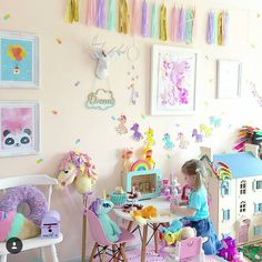 """72 Likes, 10 Comments - Bear and Sparrow (@bear.sparrow) on Instagram: """"Good Morning. I thought it would be nice to start the day sharing a colourful, joy filled room by…"""""""