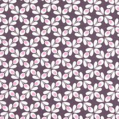 Fenton Blossom 2 - Algodón - ciruela
